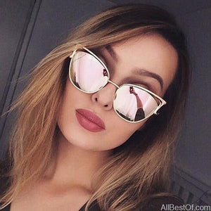 AllBestOf.com SUNGLASSES New Fashion Cat Eye Sunglasses Women Brand Design UV400