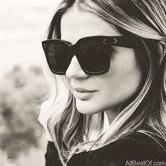 AllBestOf.com SUNGLASSES New Fashion Vintage Square Sunglasses Women Brand Designer UV400