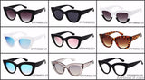 AllBestOf.com SUNGLASSES New Sunglasses Retro Cat Eye Brand Designer Vintage UV400