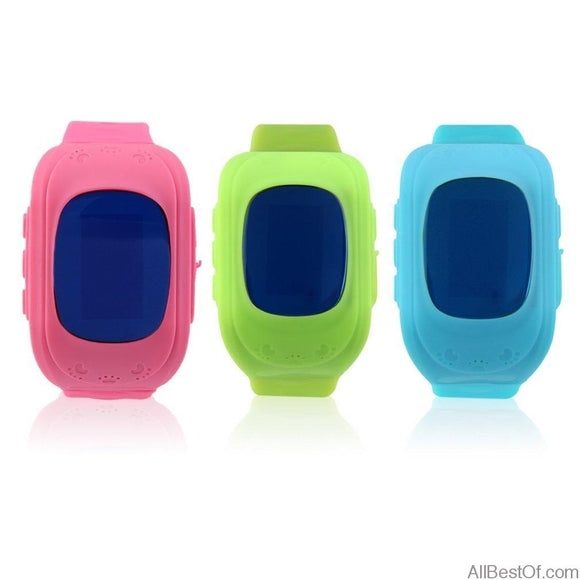AllBestOf.com WATCHES Children Smart watch GPS tracker OLED screen SOS Call Anti Lost for iOS & Android