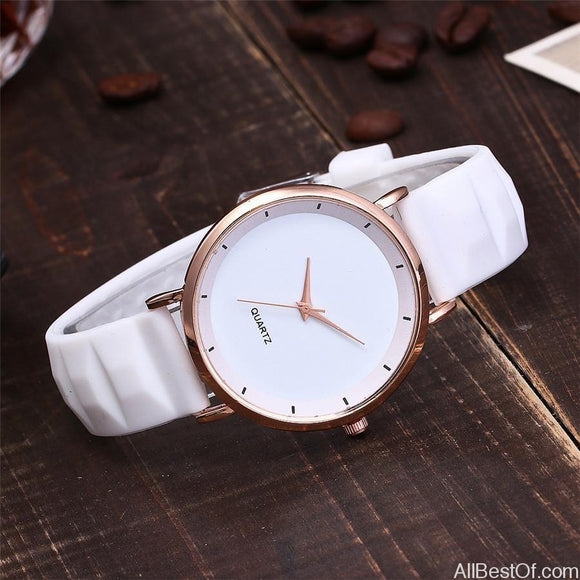 Fashion Jelly Silicone Women Watches Luxury Brand Casual Wristwatches - AllBestOf.com