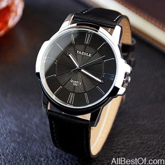 Fashion Quartz Men Watches Top Brand Luxury Business Wrist Watch Hodinky - AllBestOf.com