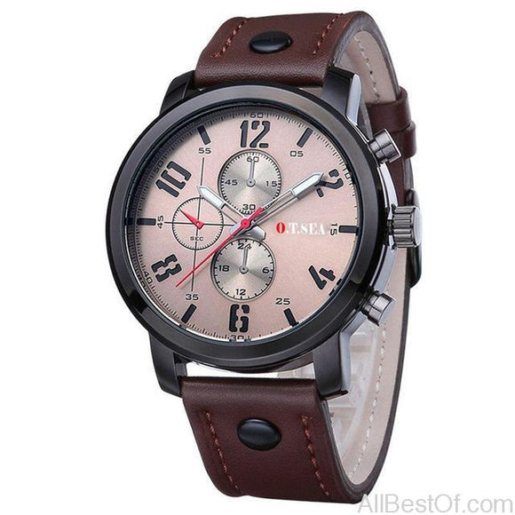 Fashion Watches Men Casual Sports Quartz Analog WristWatch - AllBestOf.com