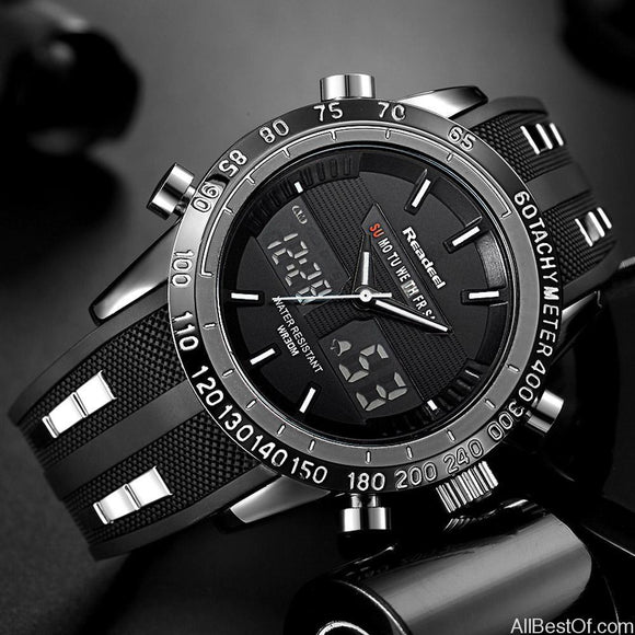 Luxury Brand Watches Men Sports Waterproof LED Digital WristWatch - AllBestOf.com