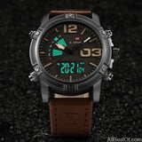 Men's Fashion Sport Watches Date Clock Military Waterproof Watch - AllBestOf.com