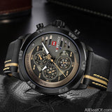 Mens Watches Top Brand Luxury Waterproof 24 hour Date Quartz Sport WristWatch - AllBestOf.com