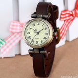 New fashion hot-selling leather ROMA vintage watches - AllBestOf.com