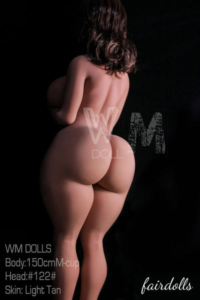 "4'11"" (150cm) M-Cup BBW Big Butt Sex Doll - Kenia (WM Doll)"