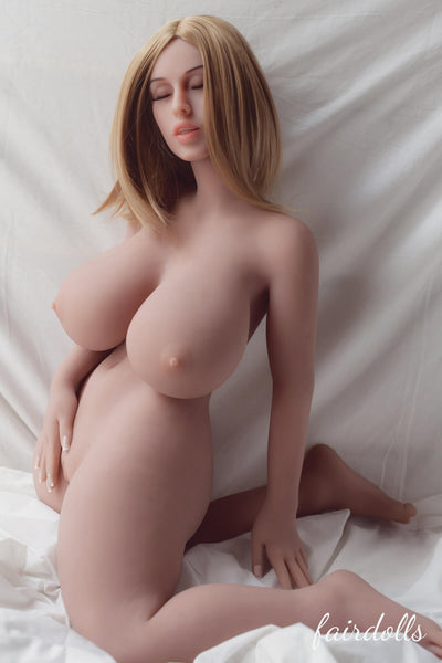 3ft5'(108cm) L-Cup Closed Eyes Little Sex Doll - Iyana (WM Doll)