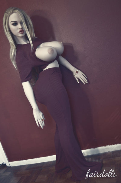 5ft  (152cm) H-Cup BBW Sex Doll - Elsa (WM Doll)