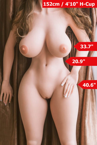 5ft (152cm) H-Cup BBW Sex Doll Body (WM Doll)