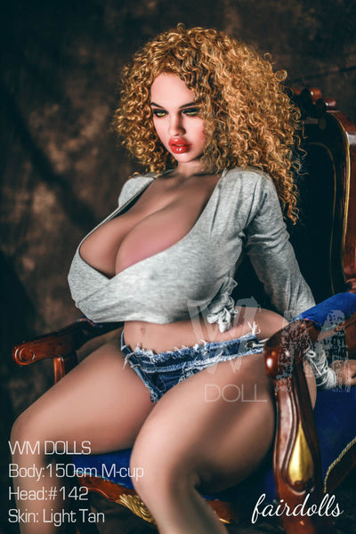 "4'11"" (150cm) M-Cup BBW Big Booty Female Sex Doll - Susana (WM Doll)"