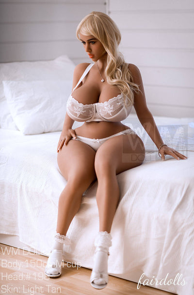 "4'11"" (150cm) M-Cup BBW Big Booty Ultra Realistic Sex Doll - Taniyah (WM Doll)"