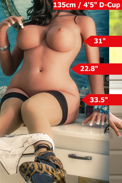 4ft5' (135cm) D-Cup Most Realistic Sex Doll Body (YL Doll)