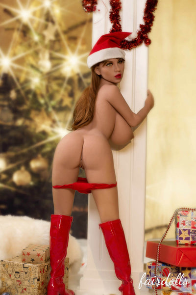 4ft7' (140cm) H-Cup Christmas Girl Big Booty Sex Doll - Taniyah (YL Doll)