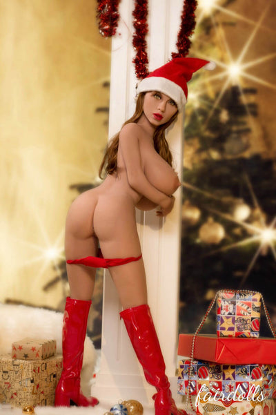 "4'7"" (140cm) H-Cup Christmas Girl Big Booty Sex Doll - Taniyah (YL Doll)"
