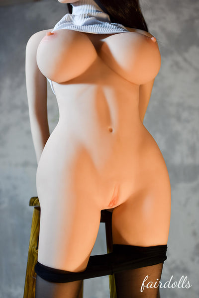 "4'7"" (140cm) G-Cup Big Boobs Young Sex Doll Body (6YE Doll)"