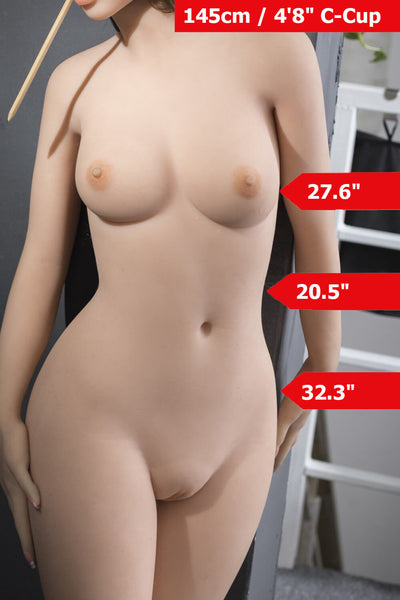 4ft9' (145cm) C-Cup Realistic Sex Doll Body (WM Doll)