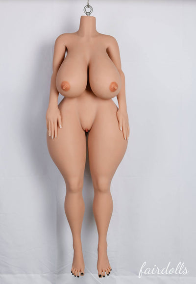 4ft9' (146cm) O-Cup Huge Tits Big Butt Sex Doll - Kinsey (YL Doll)