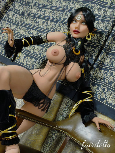 "4'10"" (148cm) D-Cup Thin Waist Elf Witch Anime Sex Doll - Colleen  (YL Doll In Stock)"