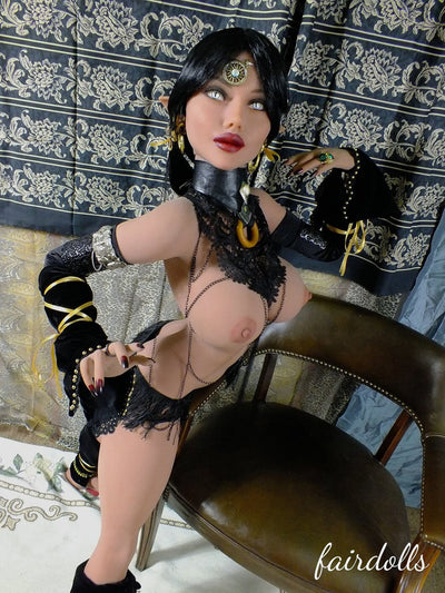 4ft10' (148cm) D-Cup Thin Waist Elf Witch Anime Sex Doll - Colleen (YL Doll)