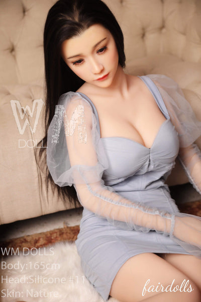 5'4(165cm)D-Cup Silicone Head Sex Doll With TPE Body - Giuliana (WM Doll)