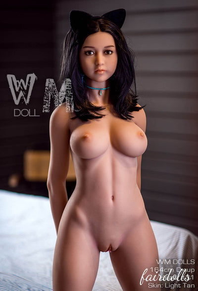 "5'4"" (164cm) D-Cup Sexy Catwoman Sex Doll - Azul (WM Doll)"
