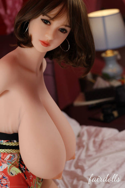 "5'4"" (165cm) K-Cup Chinese Huge Breasts Sex Dolls - Brylee (WM Doll)"