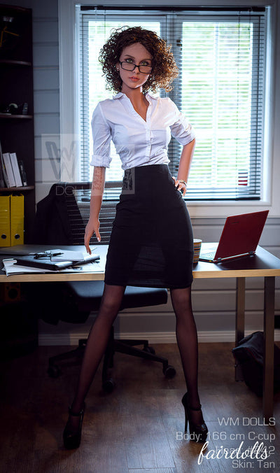 "5'5"" (166cm) C-Cup Hot Office lover Sex Doll - Bethzy (WM Doll)"