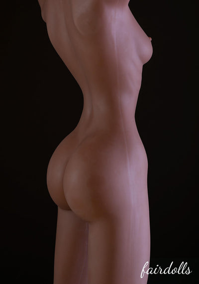 5ft1' (155cm) A-Cup Ebony Doll - Aspen (WM Doll)