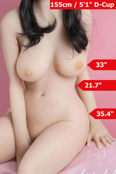 5ft1' (155cm) D-Cup Life Size Sex Doll Body (YL Doll)