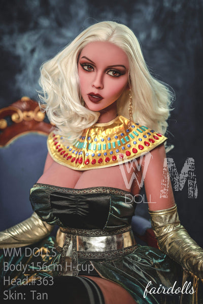 "5'1"" (156cm) H-Cup Busty Cleopatra Sex Doll - Stacey (WM Doll)"
