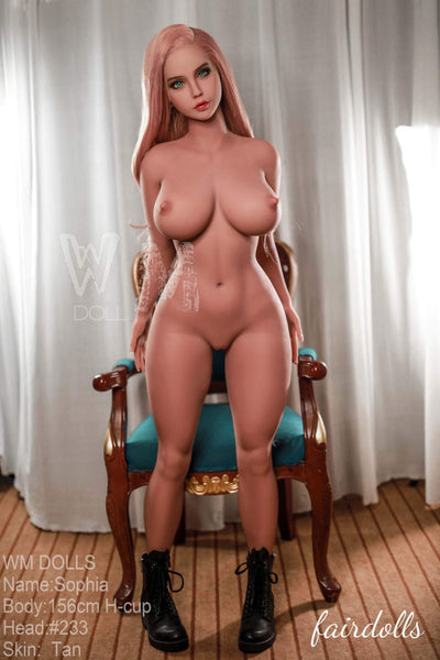 "5'1"" (156cm) H-Cup Hot And Voluptuous Figure Sex Doll - Shyann (WM Doll)"