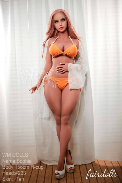 5ft1' (156cm) H-Cup Hot And Voluptuous Figure Sex Doll - Shyann (WM Doll)