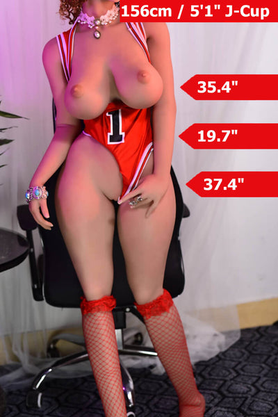 5ft1' (156cm) J-Cup Big Tits Sex Doll Body (6YE Doll)