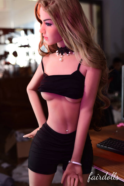 "5'2"" (158cm) A-Cup Office Lover Sex Doll - Shayla (6YE Doll)"