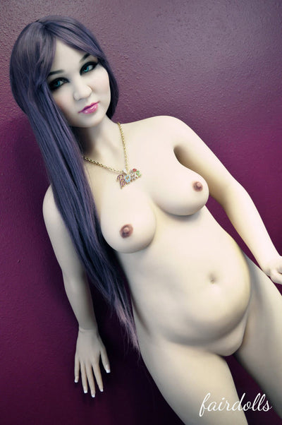 5ft2' (158cm) B-Cup Pregnant Sex Doll Body (WM Doll)