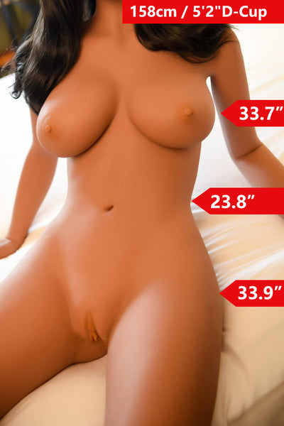 5ft2' (158cm) D-Cup Sexy Real Sex Doll Body (WM Doll)