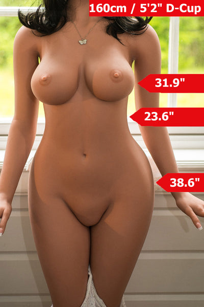 5ft2'(160cm) D-Cup Sexy Real Sex Doll Body (WM Doll)
