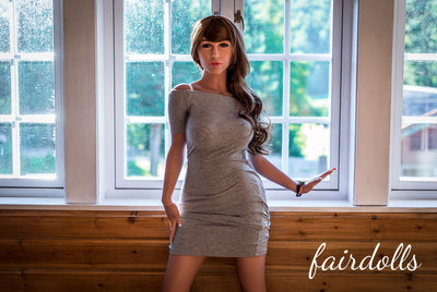 5ft3' (160cm) D-Cup Big Tits Sex Doll - Nathalie (WM Doll)