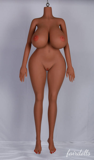 5ft3' (160cm) M-Cup Huge Boobs Sex Doll Body (YL Doll)