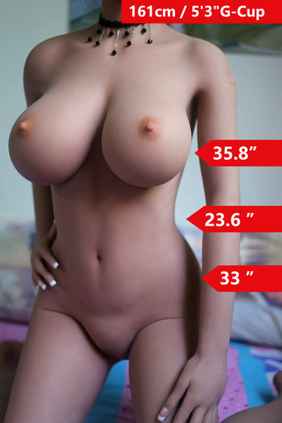 "5'3"" (161cm) G-Cup Big Tits Sex Doll Body (WM Doll)"