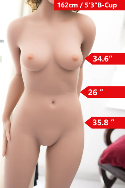 5ft3' (162cm) B-Cup Flat Chested Doll Body (WM Doll)