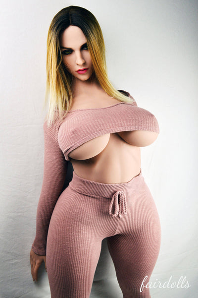 5ft4' (163cm) H-Cup Big Boobs Sex Doll - Saniya (WM Doll)