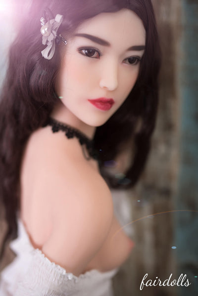 5ft5' (165cm) A-Cup Small Breast Chinese Sex Doll - Talia (6YE Doll)