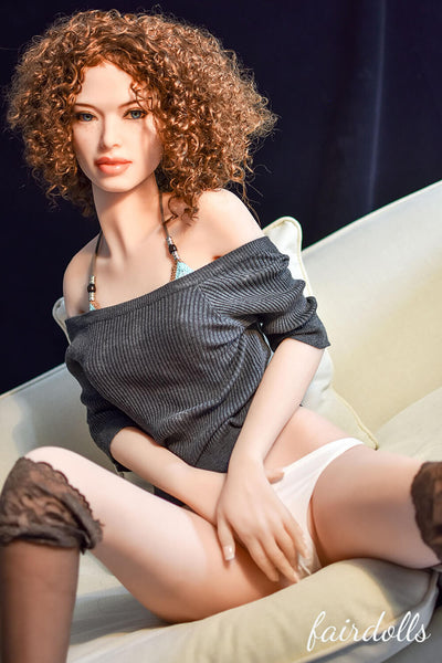 5ft5' (165cm) A-Cup Small Breast Sex Doll - Madalyn (6YE Doll)