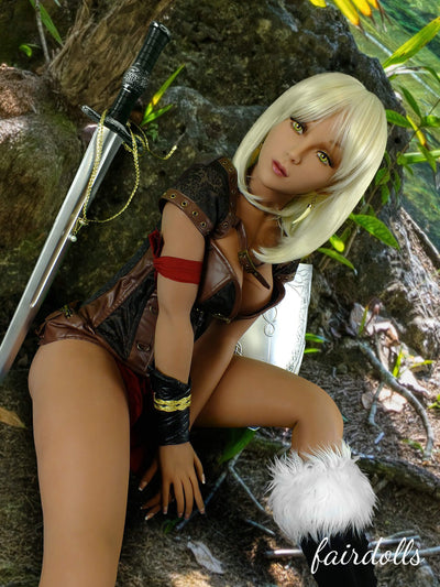 5ft5' (165cm) E-Cup Anime Female Warrior Sex Doll - Alia (YL Doll)
