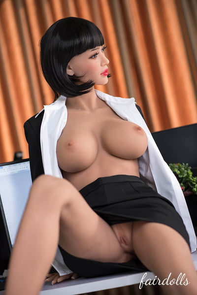 5ft5' (165cm) F-Cup Office Lady Sex Doll - Ruth (6YE Doll)