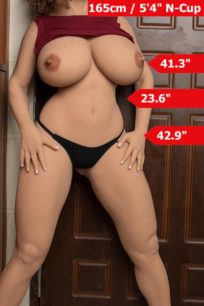 5ft5'(165cm) N-Cup Big Butt Sex Doll Body (6YE Doll)