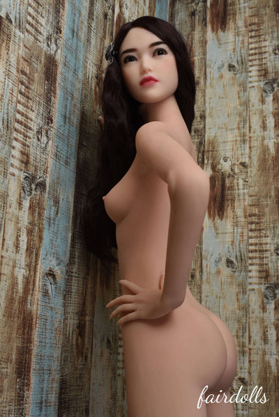 5ft5'(165cm) A-Cup Small Breast Sex Doll Body (6YE Doll)